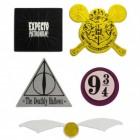 Harry Potter Sticker für Rucksäcke und Taschen im 5er Set