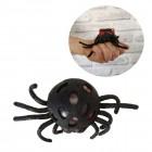Spinne Quetsch Stressball mit Würmern und LED-Effekt