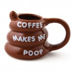Coffee makes me poop Kaffeebecher