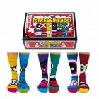 Stress Heads Oddsocks Socken in 39-46 im 6er Set