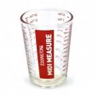 Midi Measure Messbecher mit 120 ml Fassungsvermögen