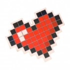 Pixel Herz Radiergummi