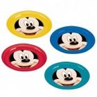 Micky Maus Teller im 4er Set