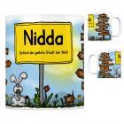 Nidda - Einfach die geilste Stadt der Welt Kaffeebecher