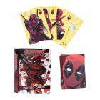 Deadpool Comicbuch Spielkarten in schöner Blechdose