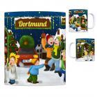 Dortmund Weihnachtsmarkt Kaffeebecher