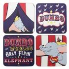 Disney Dumbo Untersetzer im 4er Set