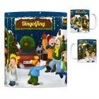 Dingolfing Weihnachtsmarkt Kaffeebecher