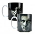 Game of Thrones Jon Snow Kaffeebecher mit Wärmeeffekt