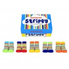 Stripey Cucamelon Socken für Babys (5 Paar)