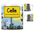 Celle - Einfach die geilste Stadt der Welt Kaffeebecher