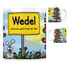 Wedel - Einfach die geilste Stadt der Welt Kaffeebecher
