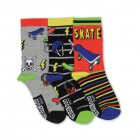 Skater Socken in 30,5-39 im 3er Set