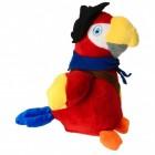 Laber Piraten Papagei Kuscheltier mit Sprachwiedergabe