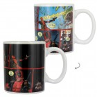 Deadpool Comicszene Kaffeebecher mit Wärmeffekt