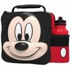 Micky Maus 3D Lunchbox mit Trinkflasche