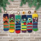 Oddsocks Socken Adventskalender mit 24 Socken für Kinder