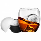 On The Rocks Whiskey Glas mit Eisballform