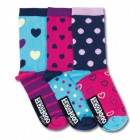 Oddsocks Nancy Socken in 37-42 im 3er Set