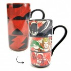 Justice League Superhelden XL Kaffeebecher mit Wärmeeffekt