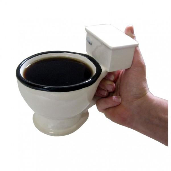 Tasse Toilette - Kaffeebecher WC