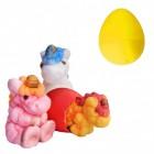 Züchte dein eigenes Einhorn Scherzartikel mit Ei in gelb
