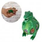 T-Rex Dinosaurier Stressball mit bunten Gel-Kugeln