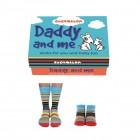 Papa und Ich Cucamelon Socken für Vater und Sohn (2 Paar)