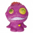 Mini Monster Stressball in lila mit Crazy Eyes