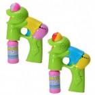 2er Set Frosch Seifenblasenpistolen mit Licht und Sound