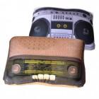 Retro Radio Kissen