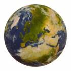 Die Erde Untersetzer aus Pappe im 12er Set