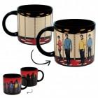 Star Trek Transporter Kaffeebecher mit Wärmeeffekt