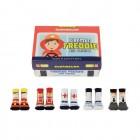 Feuerwehrmann Freddie und Freunde Cucamelon Socken für Kleinkinder (5 Paar)