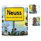 Neuss - Einfach die geilste Stadt der Welt Kaffeebecher
