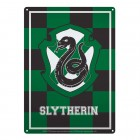 Harry Potter Slytherin Wappen Metallschild