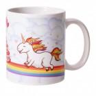 Magisches Einhorn Kaffeebecher