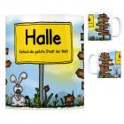 Halle (Westfalen) - Einfach die geilste Stadt der Welt Kaffeebecher