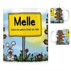 Melle, Wiehengeb - Einfach die geilste Stadt der Welt Kaffeebecher