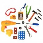 Kinder Werkzeugset mit 19 Teilen
