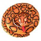 Schlange Kuscheltier mit 1,50m Länge in orange