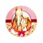 Pferde Variante 4 Kühlschrankmagnet