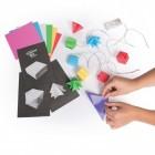 Origami DIY Lichterkette mit 10 Elementen