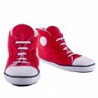 Die Sneaker Hausschuhe für Männer in rot 1x Paar