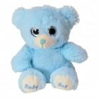 Teddy Bär Kuscheltier für Jungen in blau