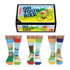 On Your Bike Fahrrad Oddsocks Socken in 39-46 im 6er Set