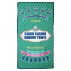 Strand Casino Poker und Blackjack Badetuch
