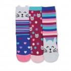 Katzen Oddsocks Socken in 30,5-38,5 im 3er Set