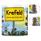 Krefeld - Einfach die geilste Stadt der Welt Kaffeebecher