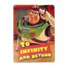 Toy Story Buzz Lightyear Blechschild in 15x20 cm